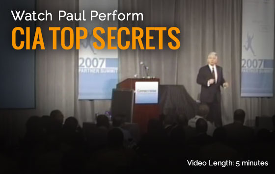 Paul Gertner CIA Top Secrets demo video