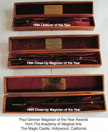 Paul Gertner's Magician of the Year Awards