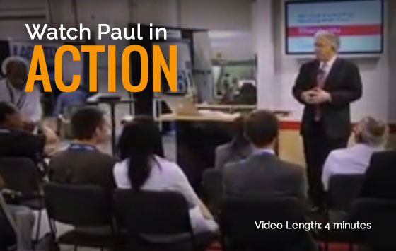 Paul Gertner Trade Show demo video